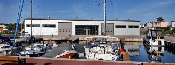 Nowe budynki Portu Jachtowego