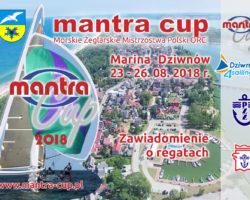 """Regaty """"Mantra Cup 2018"""""""