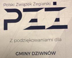 Gmina Dziwnów wyróżniona przez PZŻ